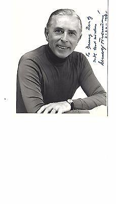 Rudolf Firkusny signed photo  Famed PIANIST