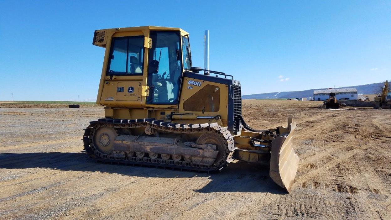 2003 John Deere 650H XLT Dozer Crawler Tractor Diesel Engine Hydraulic Machine