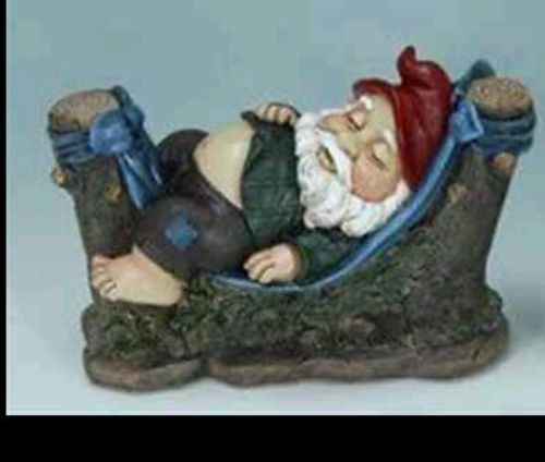 CONCRETE PLASTER MOLD LATEX ONLY napping gnome