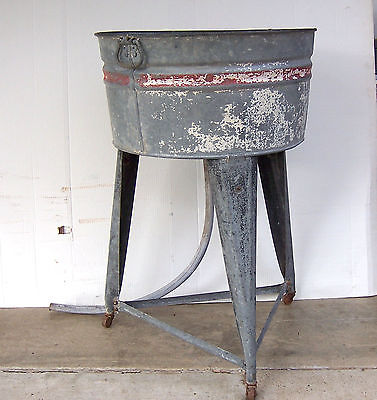 Galvanized Wash Tub Stand For Sale Classifieds