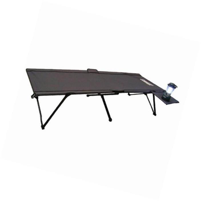 Pack Cot Side Table Away Coleman New Camping Bed Folding Outdoor 174 Portable W