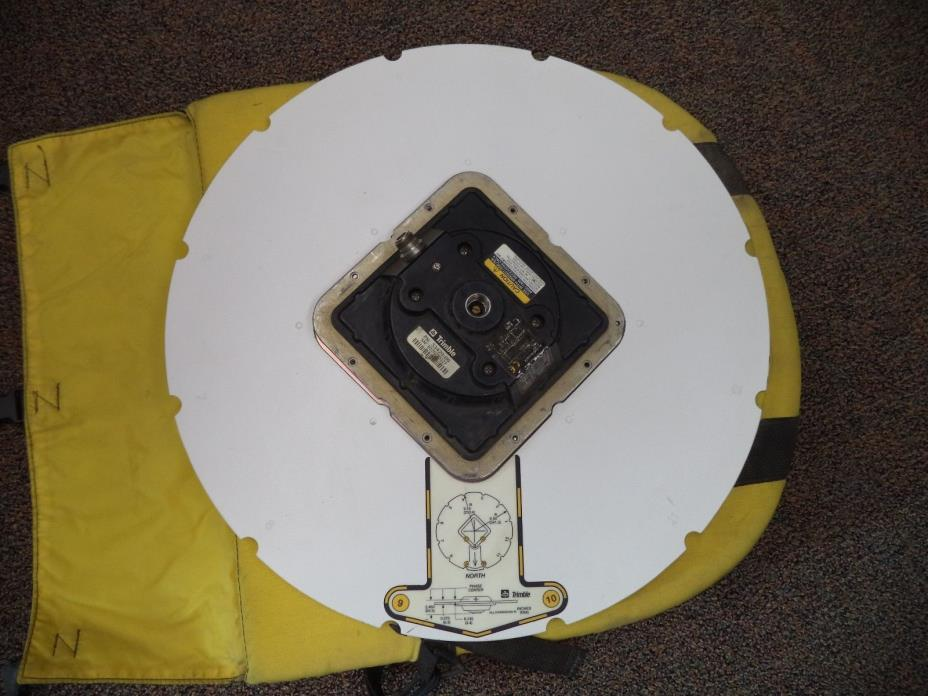 Trimble Micro Centered Geodetic L1/L2 Antenna PN 33429-00 w/ Ground Plane & Bag