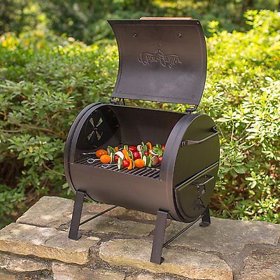 Grill Charcoal Portable Tabletop BBQ Patio Camping Tailgating Picnic Family New