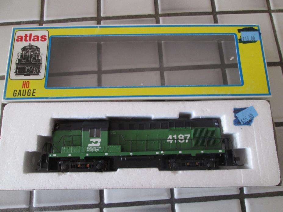 atlas kato drive BURLINGTON NORTHERN powered engine HO scale
