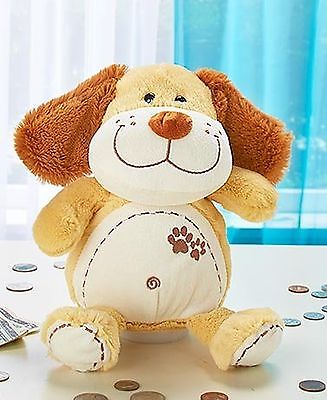 Cute & Cuddly Coin Banks with Sound (Dog)