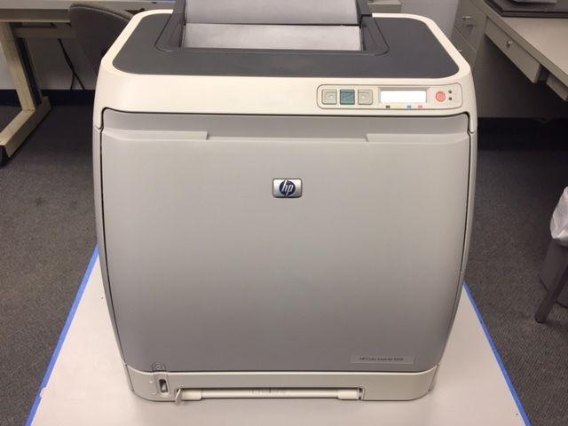 HP Laserjet Color 1600 laser printer