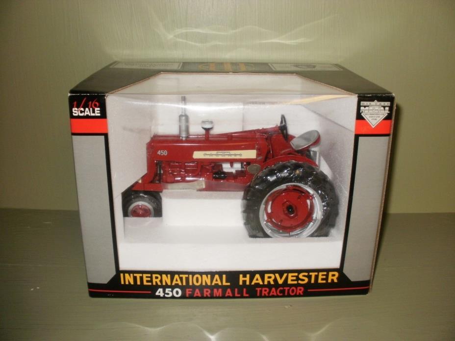 SPECCAST, FARMALL 450 TRACTOR , 2003 PA FARM SHOW , STK#CUST298,1/16SCALE