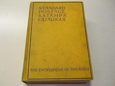 Vintage 1940 Scott Standard Postage Stamp Catalogue