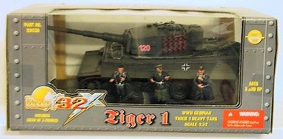 1/32 Ultimate Soldier WWII German Tiger 1 Tank 21st Century Toys