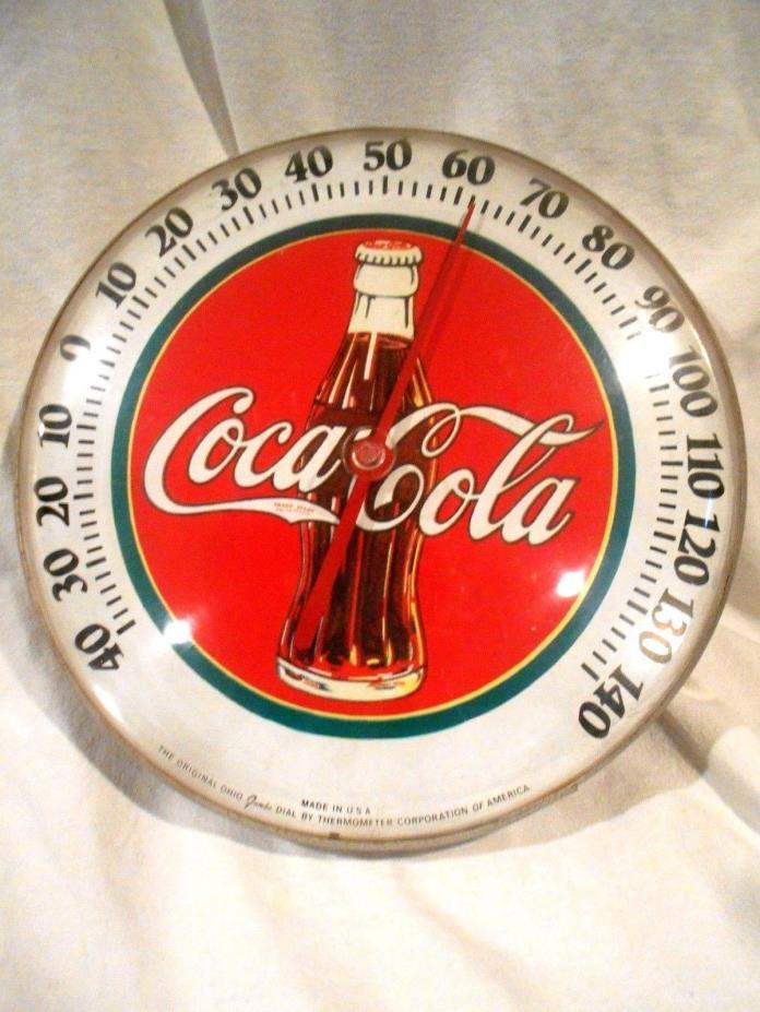 1984 Coca Cola Thermometer