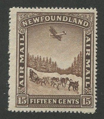 NEWFOUNDLAND AIRMAIL C9 MINT F/VF