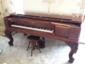 Trade $15000 1860'S DECKER BROS. SQUARE GR. PIANO (Duluth)