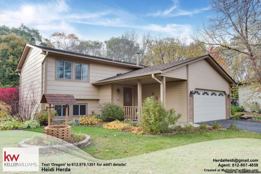 Undeniably Delightful! Home in Champlin 3 Beds, 2 Baths
