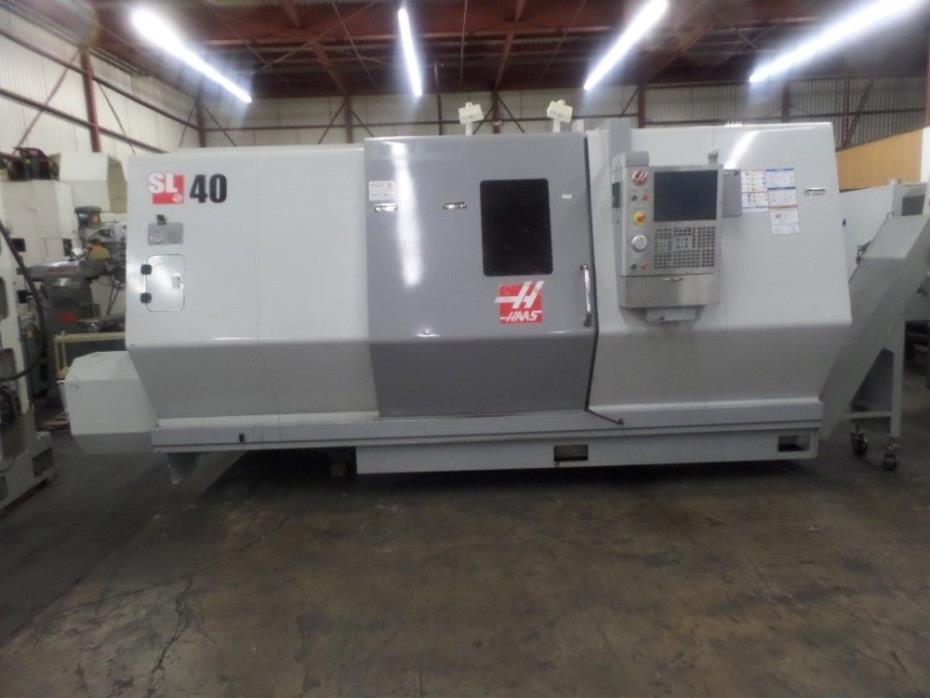 2012 Haas SL-40-BB, CNC Lathe-Turning Center # 7786257