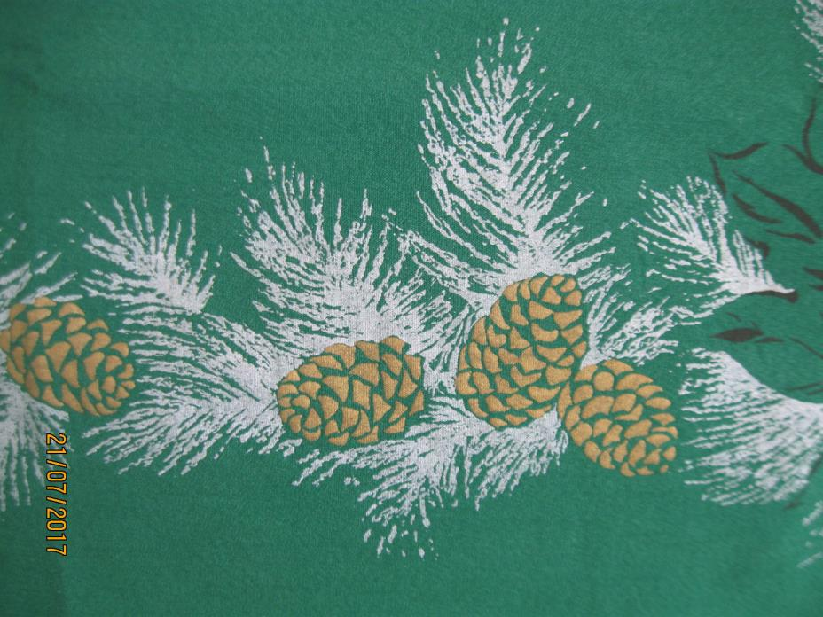 Pine Cone Tablecloth For Sale Classifieds