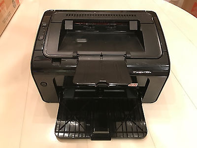HP LaserJet Pro P1102w Wireless Laser Network Printer Wifi USB + Cords