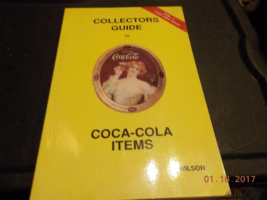 coke coca cola items vol.1 1993 94  collectors guide al wilson free shipping