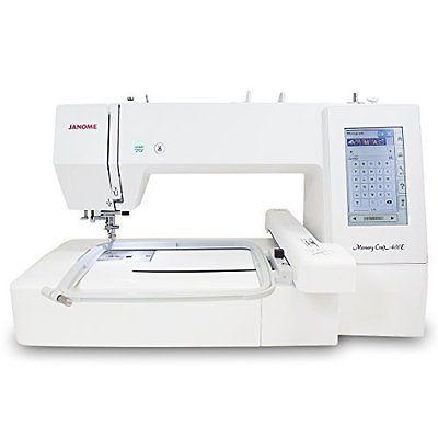 Janome Memory Craft 400E - Embroidery Machine