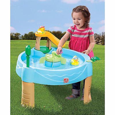 Play Set Water Center Table Sandbox Kids Baby Child Toddler Pond Toy Game Gift