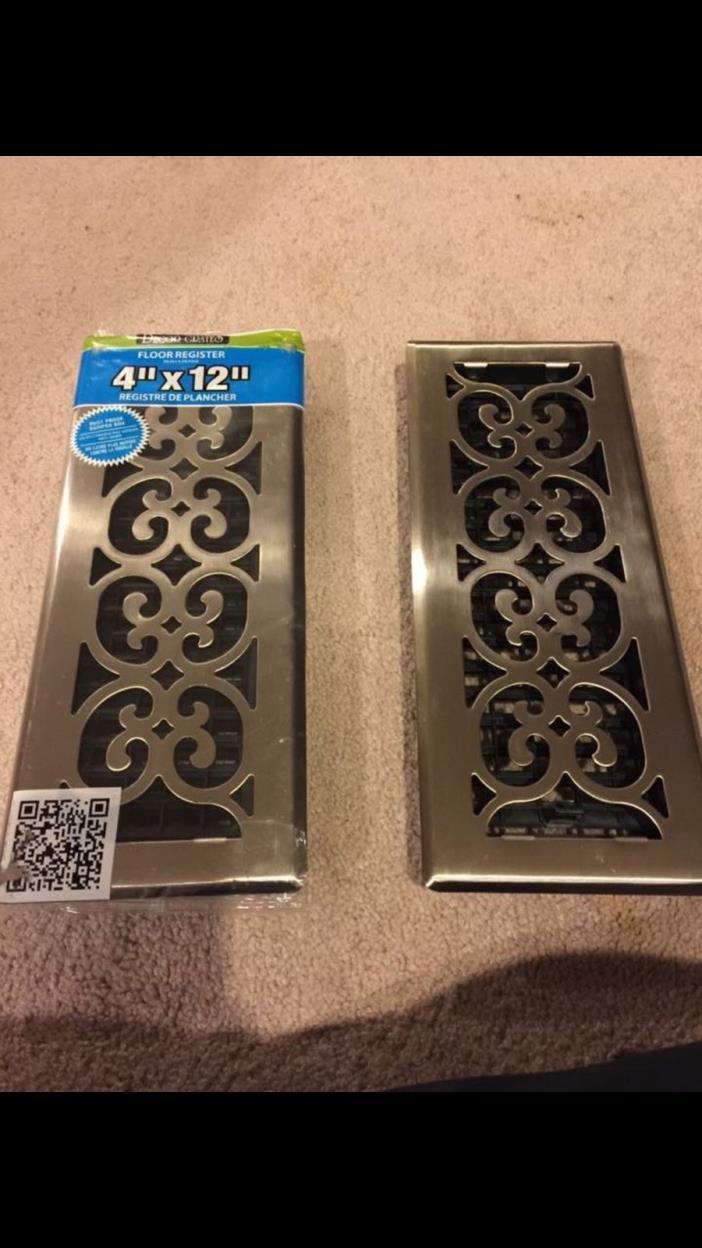 decorative floor vent covers