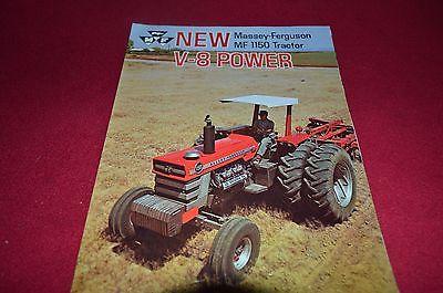Massey Ferguson 1150 Tractor Dealers Brochure YABE11 VER90