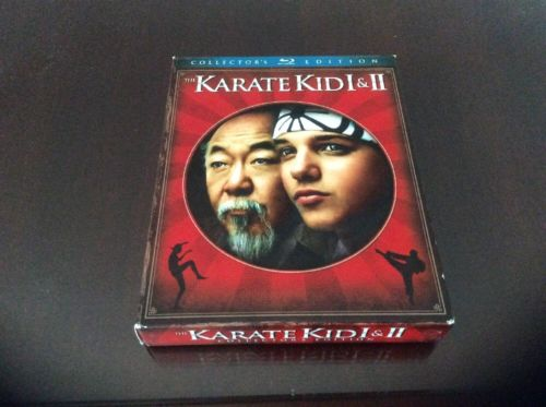 **SLIPBOX ONLY** Karate Kid I/II Collector's Edition Blu-ray SLIPBOX ONLY