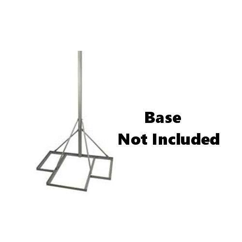 Patio Mount Mast 1.66in Antenna Satellite Dish Mount up to 48