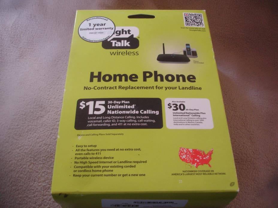Straight TALK Prepaid Wireless HOME Phone Device