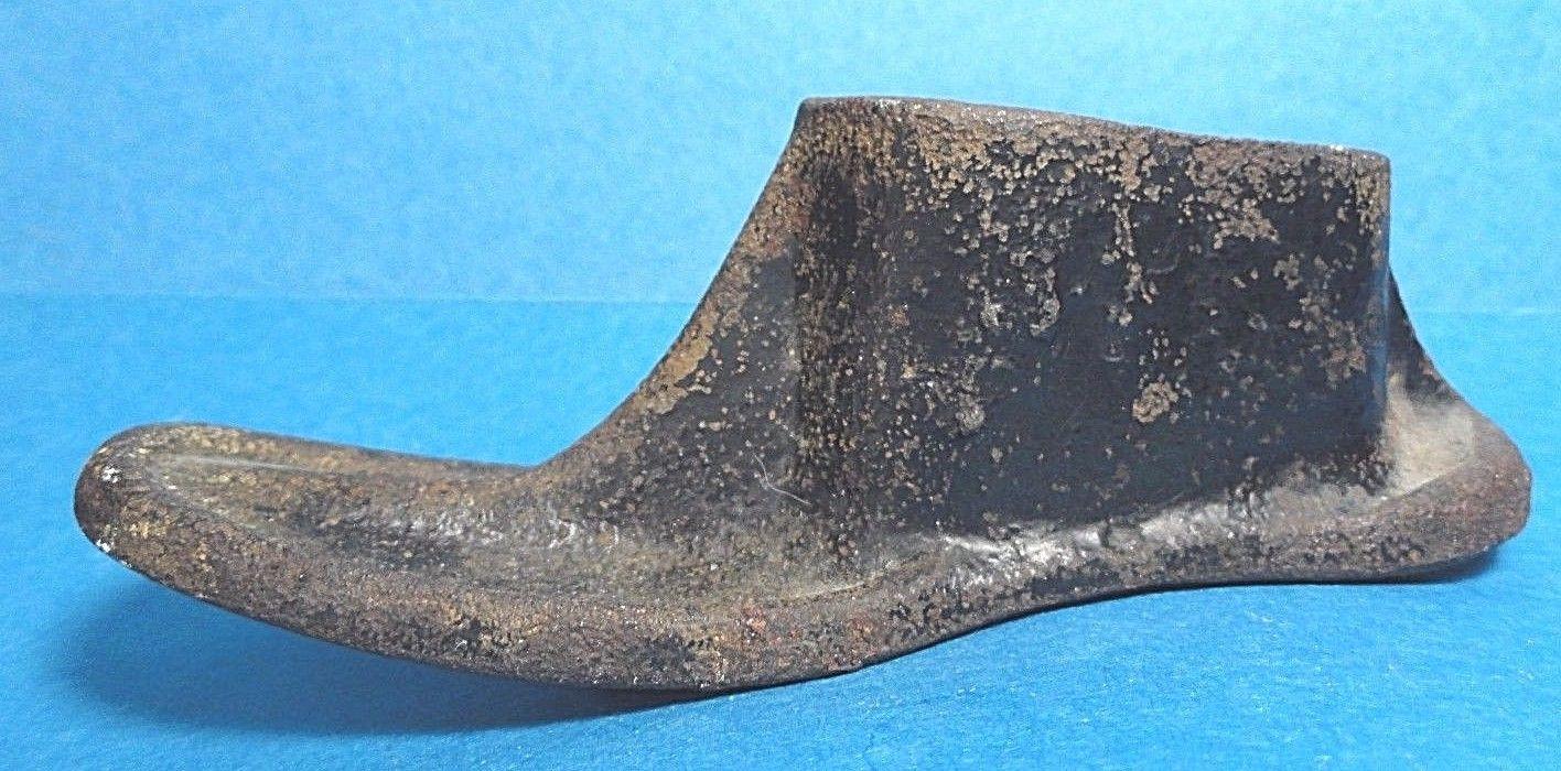 Vintage Baby/Child's Cast Iron Cobbler Shoe Form