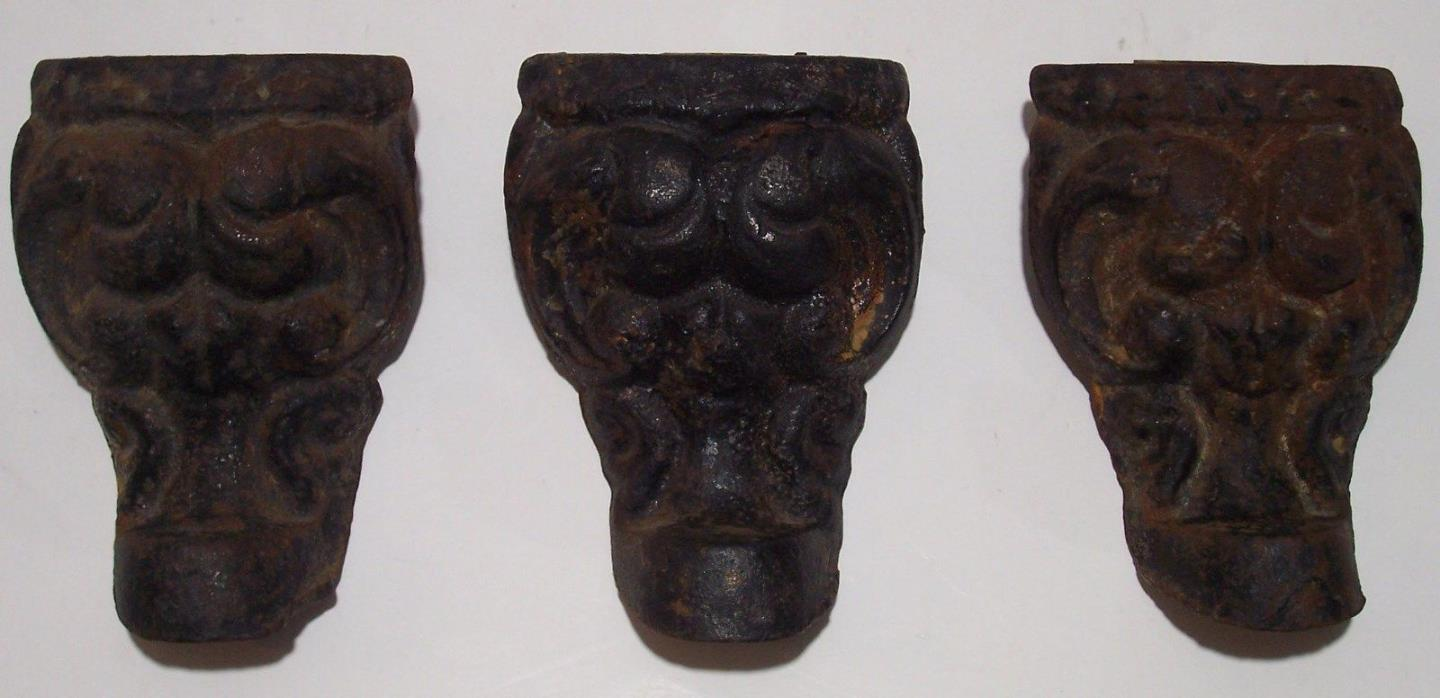 Antique Cast Iron Wood Stove Legs