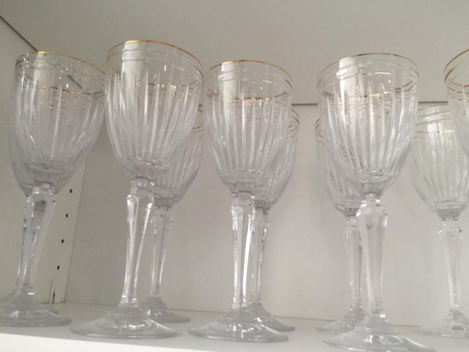 WATERFORD (MARQUIS) HANOVER GOLD Water Goblet