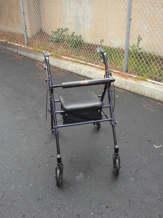 Carex Rolling Walker with Seat