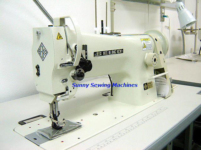 Seiko STH-8BLD-3 Leather Sewing Machine - Made in Japan - Consew 206RB-5