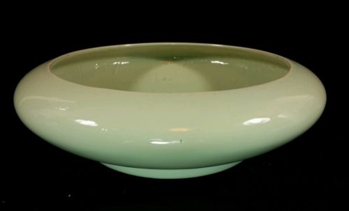 Mid Century Modern Teal Color Planter By Harris Potteries Of Chicago 9 1/2