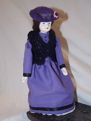 Vintage Irish Turf Owencraft Molly Malone Character Doll w/ stand