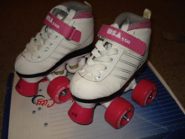 Girls  Roller skates  Skate City  550   size JR10 child