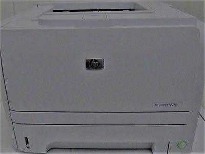 HP LaserJet P2035N Workgroup Laser Printer