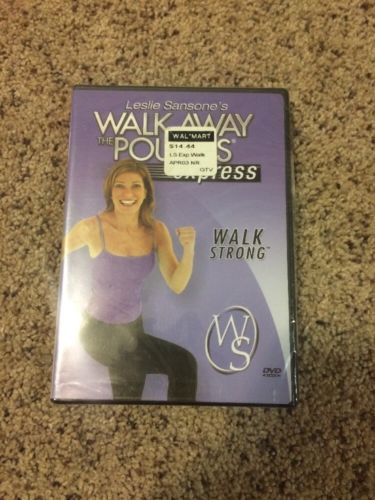 Leslie Sansone's Walk Away The Pounds Express DVD