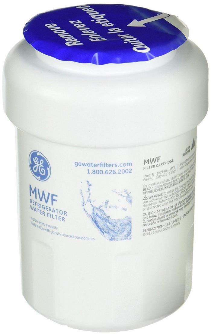 GE Genuine General Electric MWF Replacement Refrigerator Water Filter New