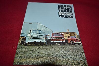 Dodge High Tonnage Diesel Trucks For 1966 Dealer's Brochure YABE11 VER90