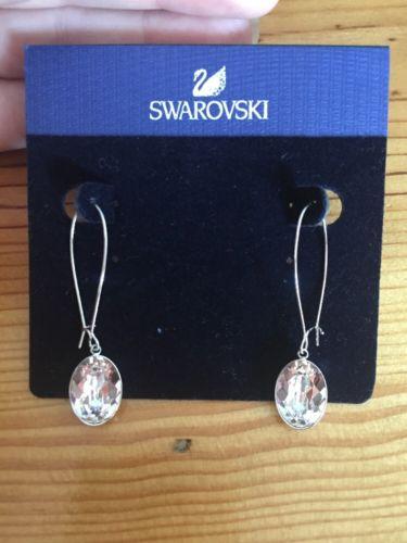 Swarovski  Puzzle Crystal Pierced Earrings 1108944 NWTS