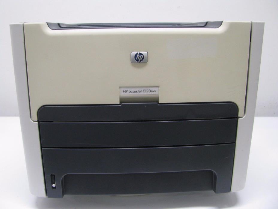 HP LaserJet 1320NW Workgroup Laser Printer