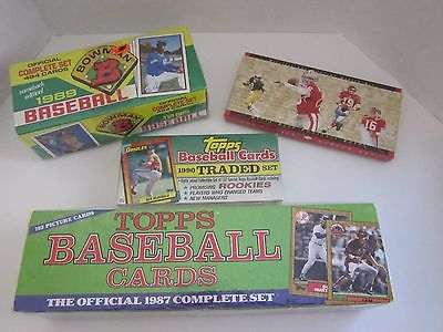 4 - Sets Of Sports Cards Unopened And Full Sets