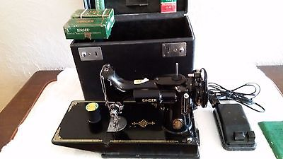 vintage 1951  singer sewing machine