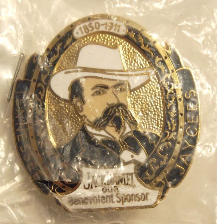 Vintage Tennessee Jaycees - Jack Daniels Pin - in original plastic packaging