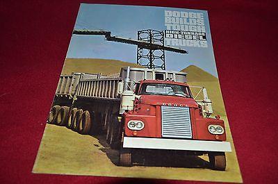 Dodge High Tonnage Diesel Trucks For 1964 Dealer's Brochure YABE11 VER90