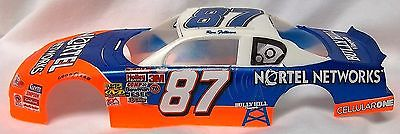 BODY - #87 NORTEL 2000-02 CHEVROLET MONTE CARLO NASCAR RACE CAR BODY - 1/24