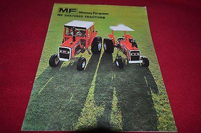 Massey Ferguson 285 1085 Tractor Brochure YABE11 VER90