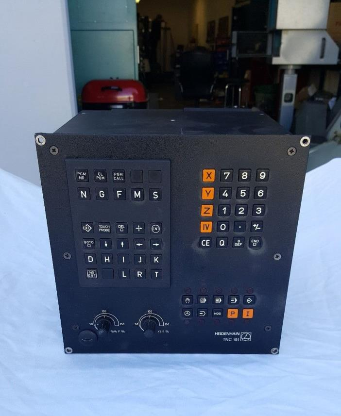 Heidenhain TNC 151 p CNC Controller Bridgeport Interact 412 working
