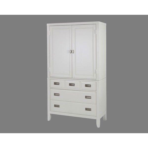 Wardrobe Armoire Storage Cabinet Closet Bedroom Furniture Organizer White New